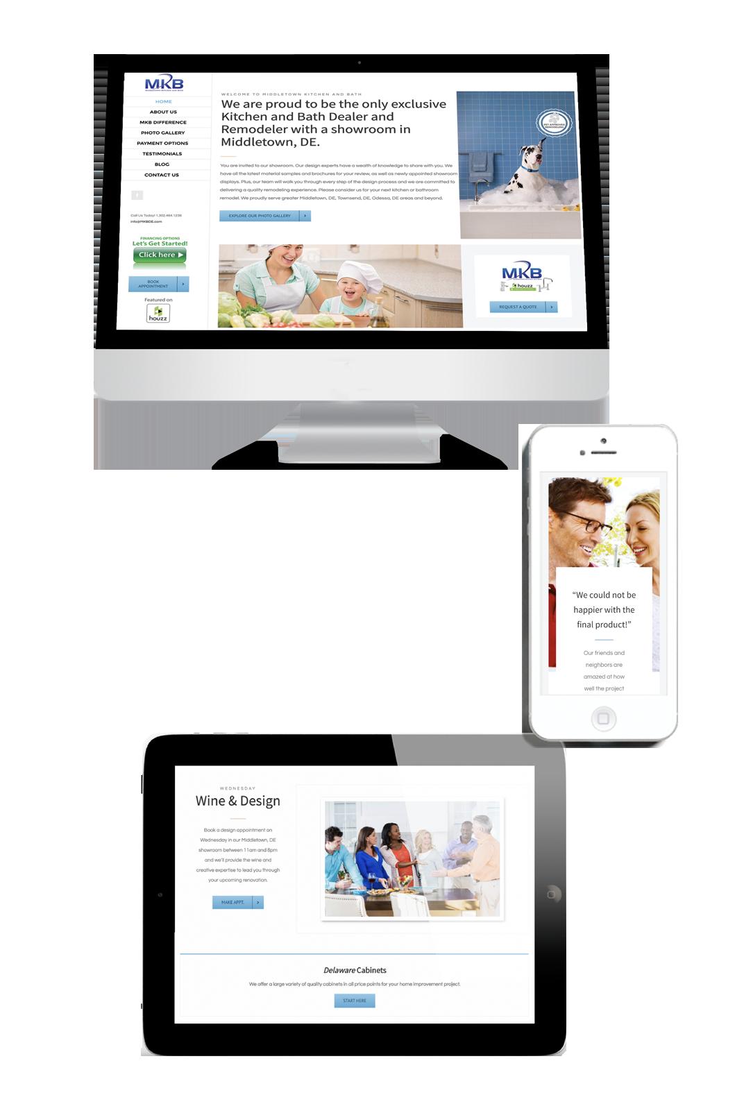 iKANDE web design MKBDE