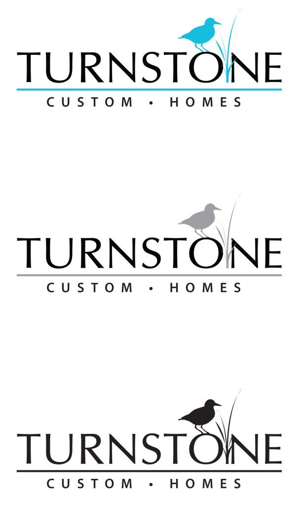 Turnstone Custom Homes new logo iKANDE design