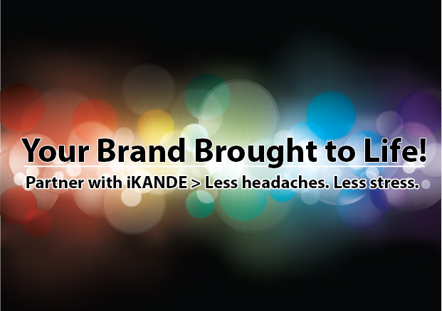 your brand brought to life by iKANDE web design