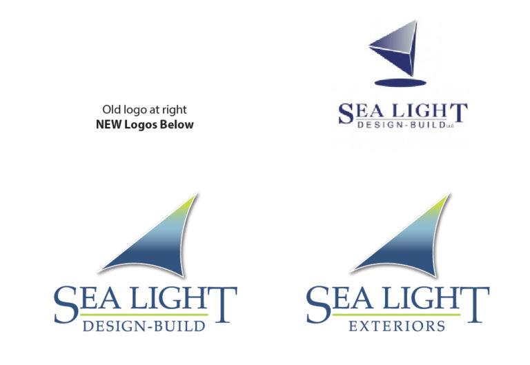 Sea Light Design Build logo by iKANDE
