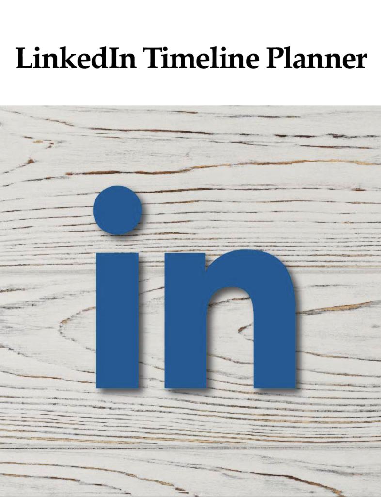 Linkedin timeline planner BY ikande web design