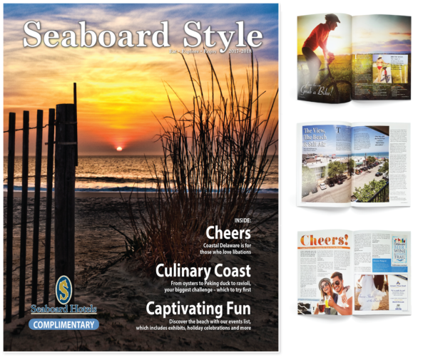 Seaboard Style magazine design and print by iKANDE web design