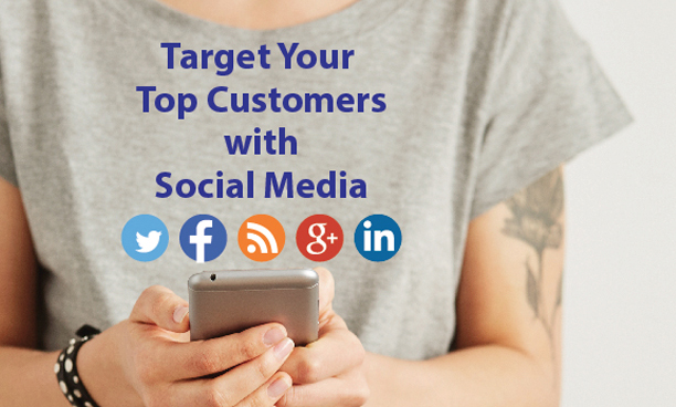 Socially Target Top Customers by iKANDE web design