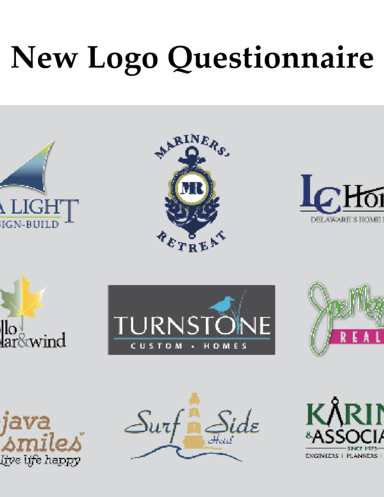 new logo questionnaire BY ikande web design