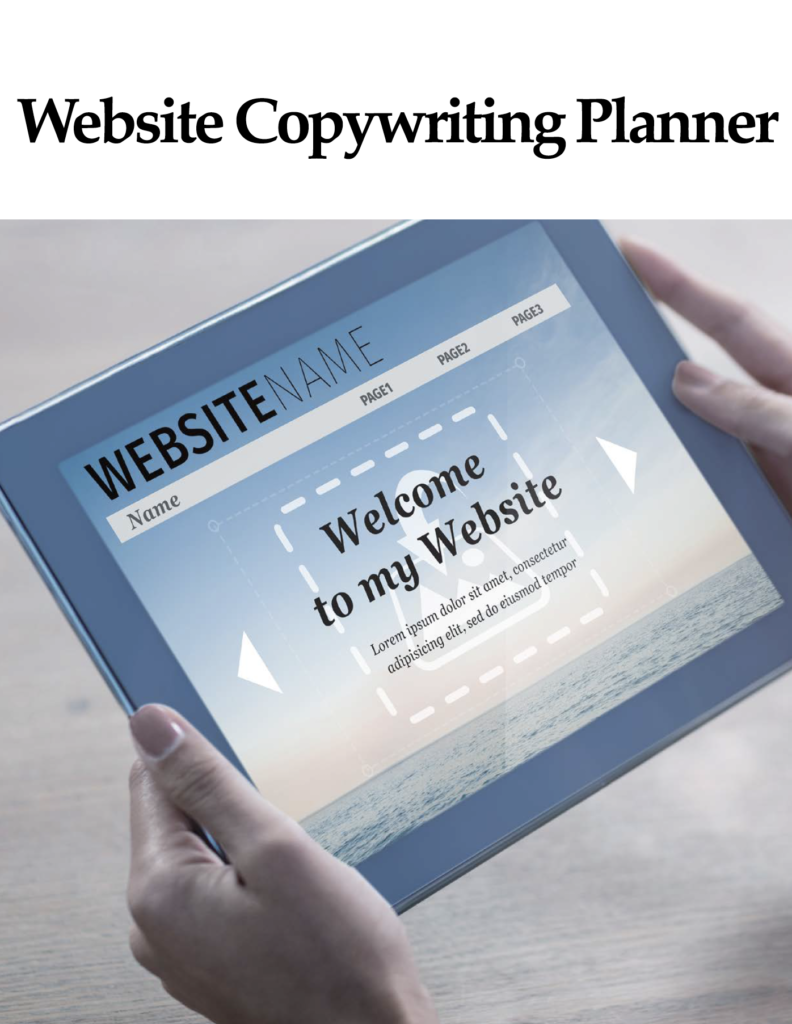 website copywriting planner BY ikande web design