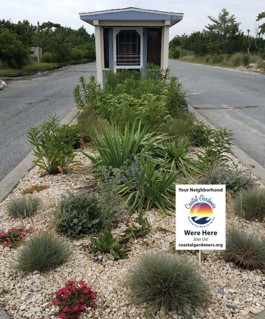 Coastal Gardeners, Delaware, logo and yard sign design by iKANDE
