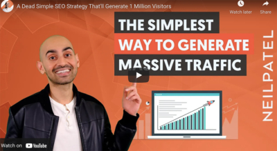 ikande suggests using Ubersuggest for Simple SEO strategy to generate high traffic