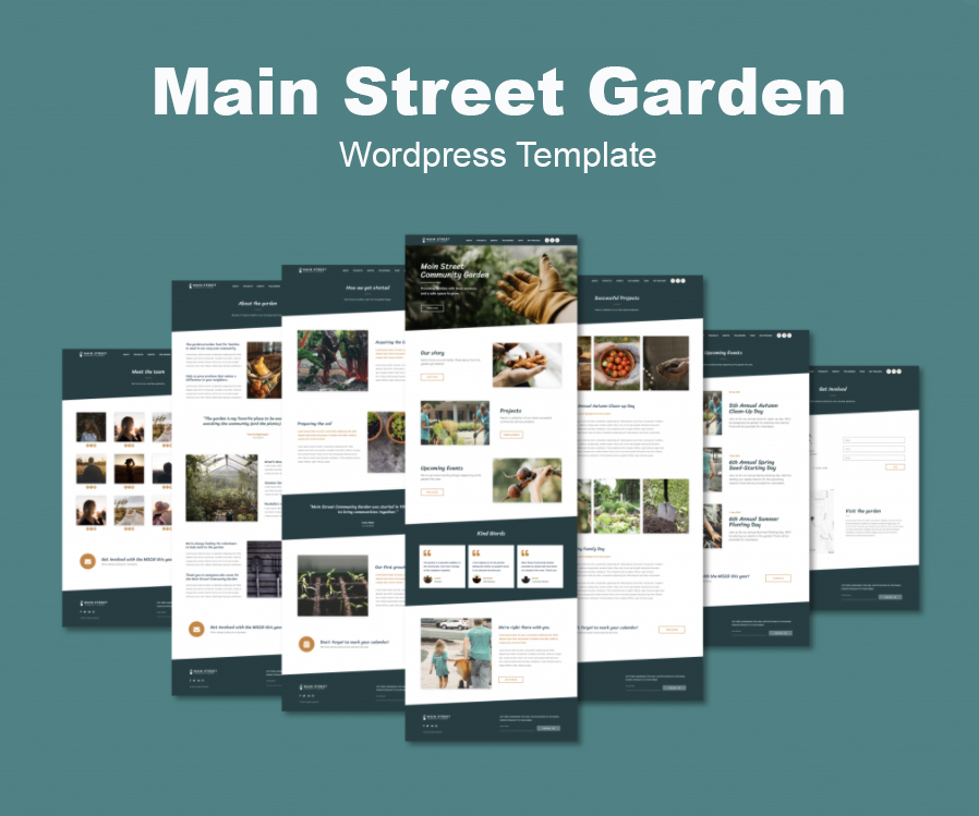 Quick Live WordPress template offered by iKANDE