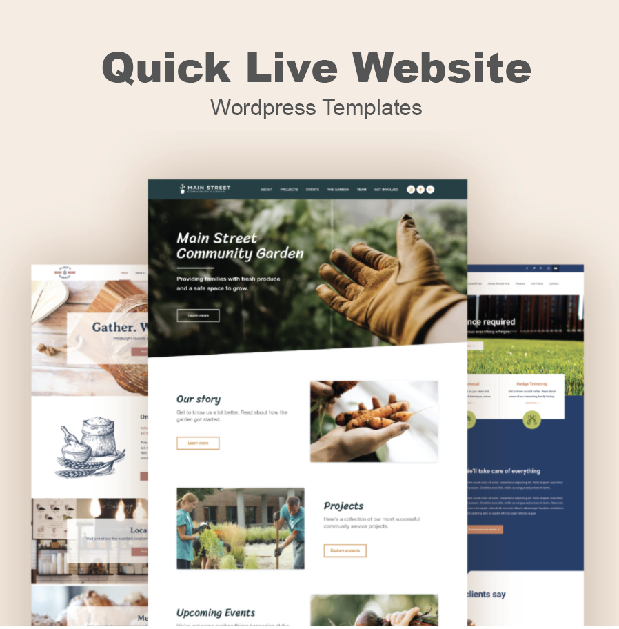 Quick Live Websites by iKANDE